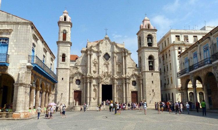Die historische Plaza von Havanna