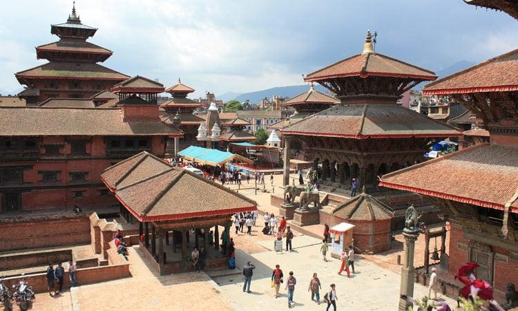 Der Durbar Square Kathmandu