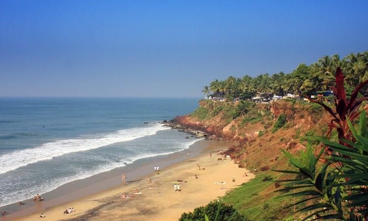 Sandstrand in Kerala