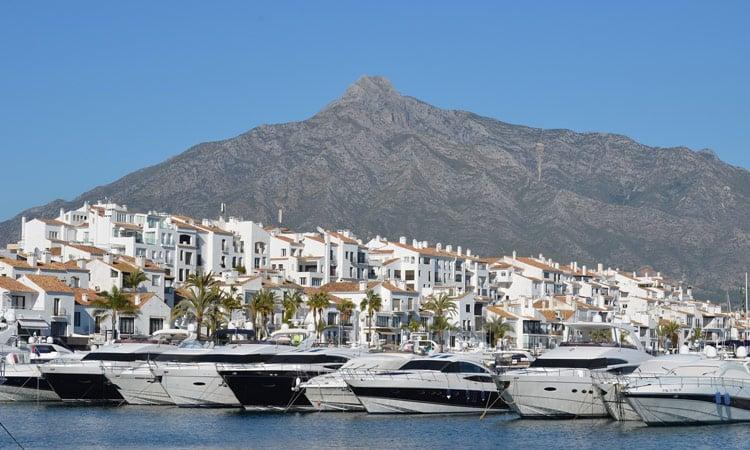 Marbella Yachthafen