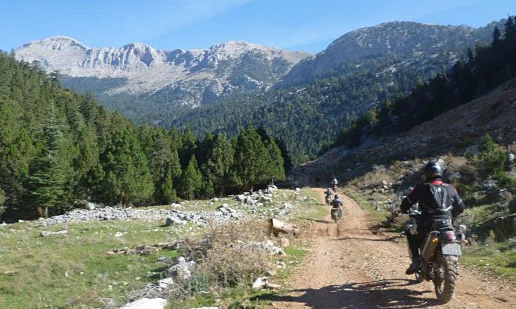 traumhaft schöne Landschaft des Taurusgebirges
