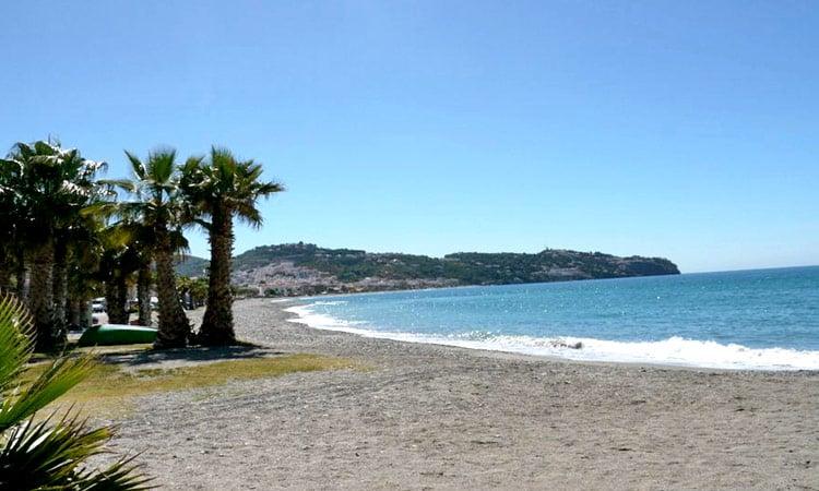 Strandidylle an der Costa del Sol