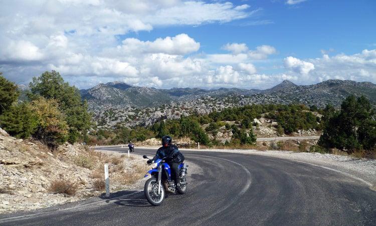 Strasse nach Konya