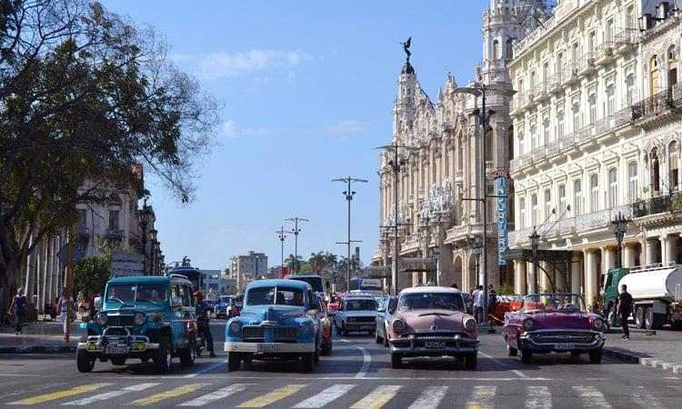 der Verkehr in Havanna