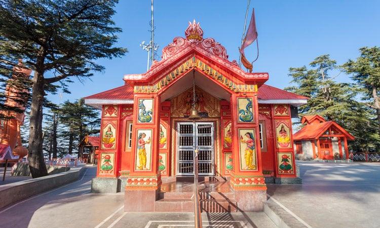 Der Kakhoo Tempel in Shimla