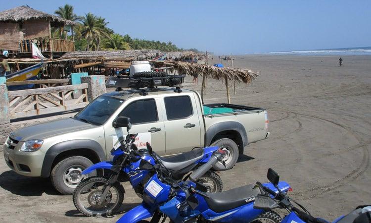 Der Strand Playa El Cuco