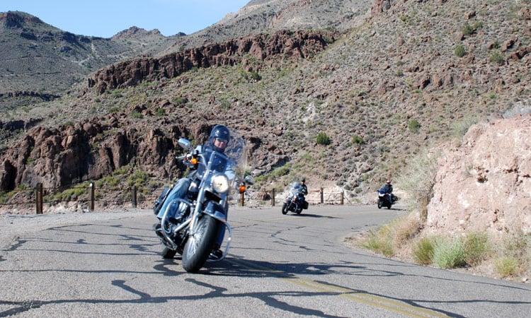 Durch die Berge nach Loreto