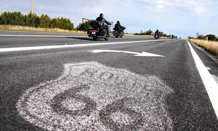 Die historische Route 66