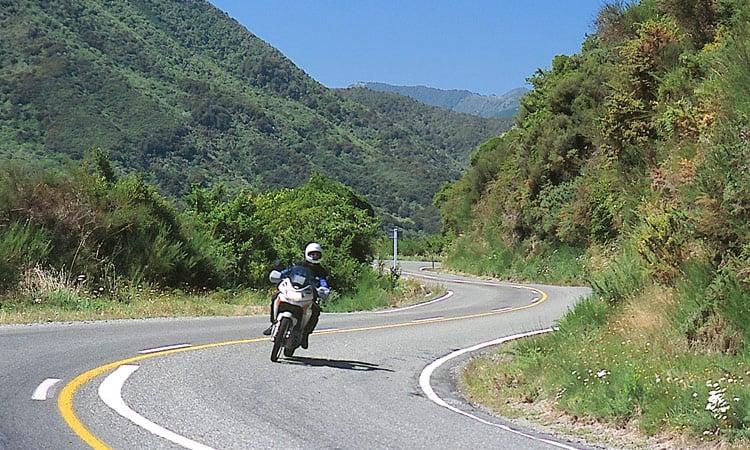 Kurvenparadies Neuseeland
