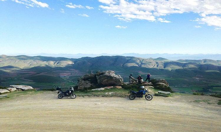 Fantastischer Ausblick am viewpoint des Swartbergpass