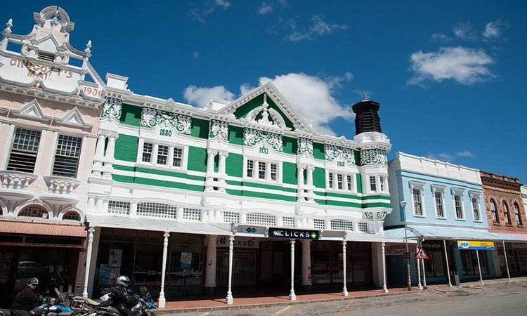 Historisches Gebäude in Grahamstown