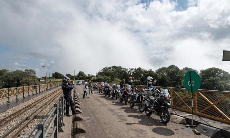 Fotostop auf dem Weg nach Bulawayo