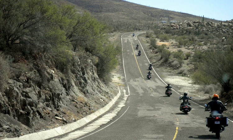 Bergstrecke Baja California