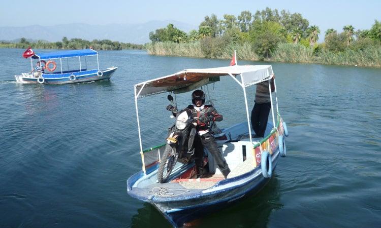 Bootsüberquerung des Dalyan