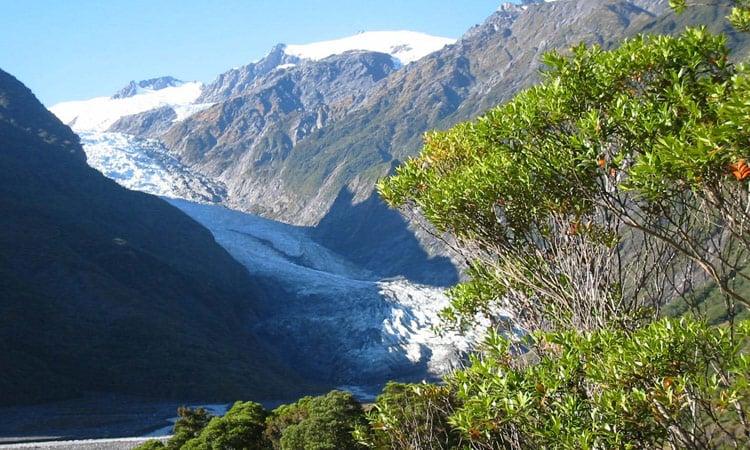 Die Gletscherregion
