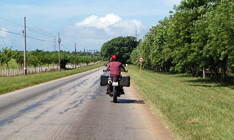 Fahrt nach Trinidad