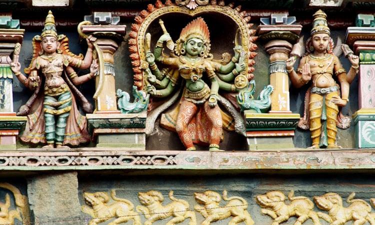 Hindu Tempel in Madurai