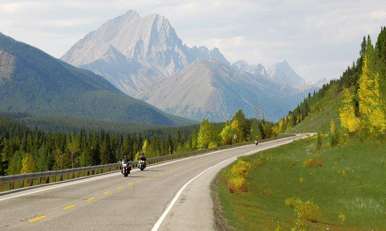 Kanada traumhafte Bergstrecken
