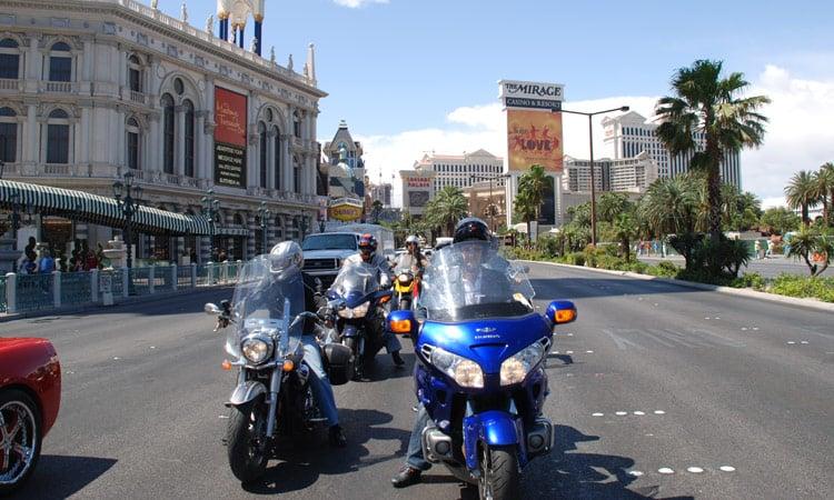 Fahrt über den Strip in Las Vegas