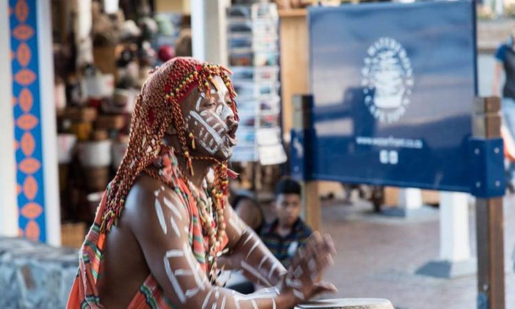 Musiker des Stammes der Xhosa