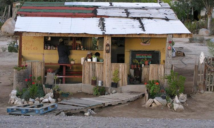 Mexikanischer Borrito shop