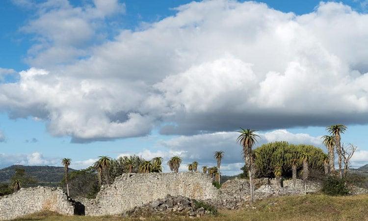 Die Ruinenstadt Shona City