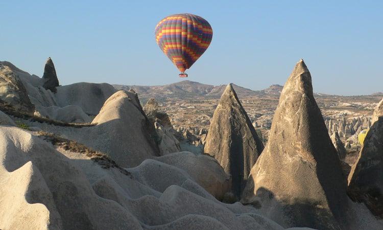 Ballonfahrt über den Zaubergarten Kappadokien