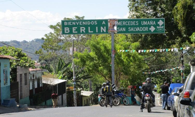 Berlin gibt es auch in El Salvador