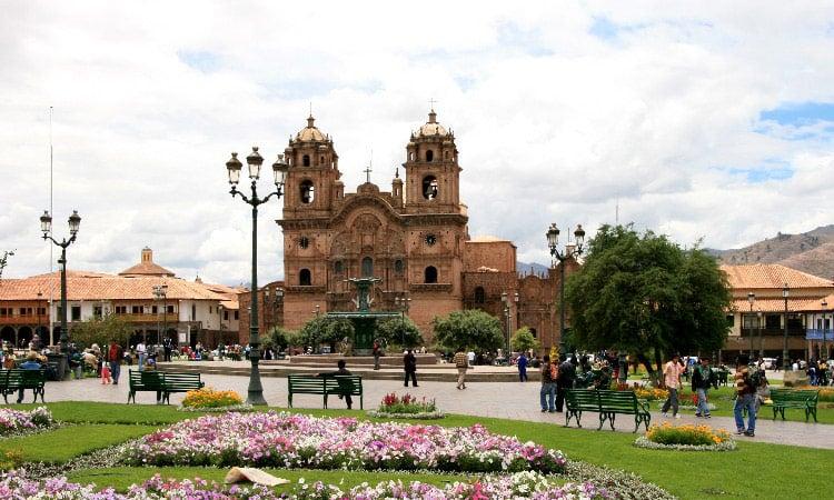 Die historische Altstadt von Cusco