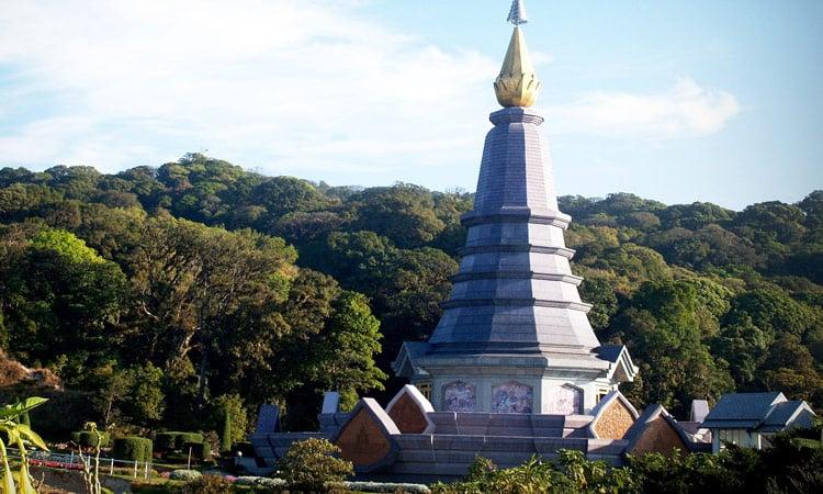 Am Gipfel des Doi Inthanon