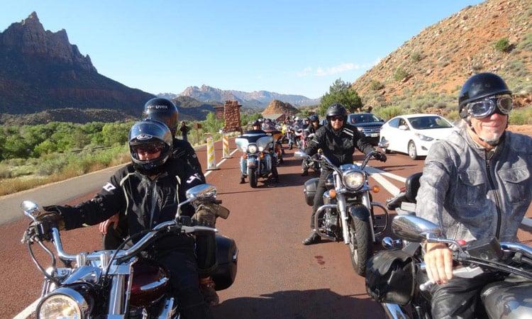 Fahrt im Zion National Park