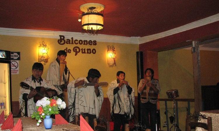 Musiker in Puno