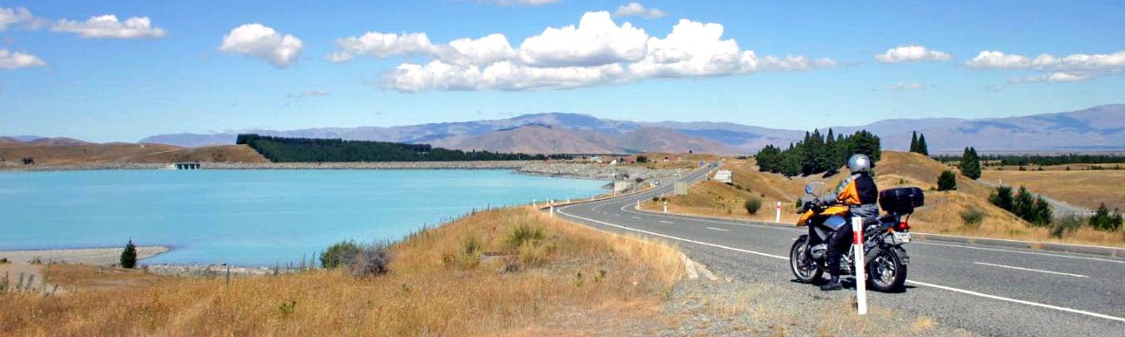 Neuseeland-Motorradmiete