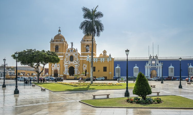 Die Innenstadt von Trujillo