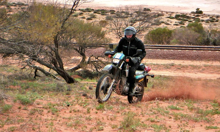 Neben der Piste im Outback