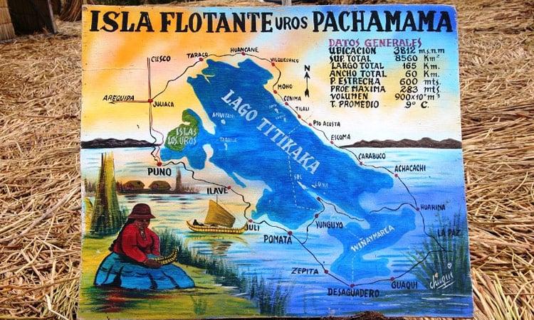 Schwimmende Inseln Titicaca See