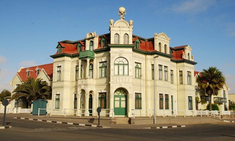 Schönes Gebäude in Swakopmund