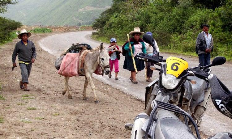 Auf dem Weg nach Cajamarca