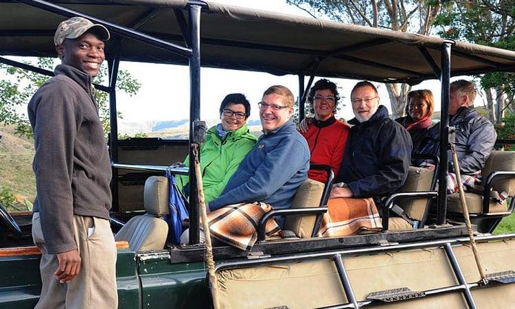 Wir gehen auf Safari im Addo Elephant Park