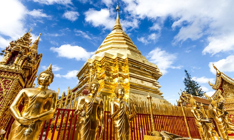 Der Doi Suthep Tempel