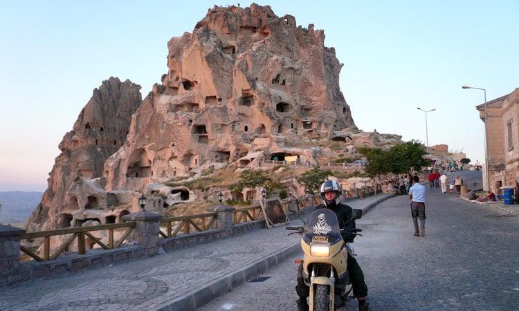 Die berühmten Felsenwohnungen in Ürgüp