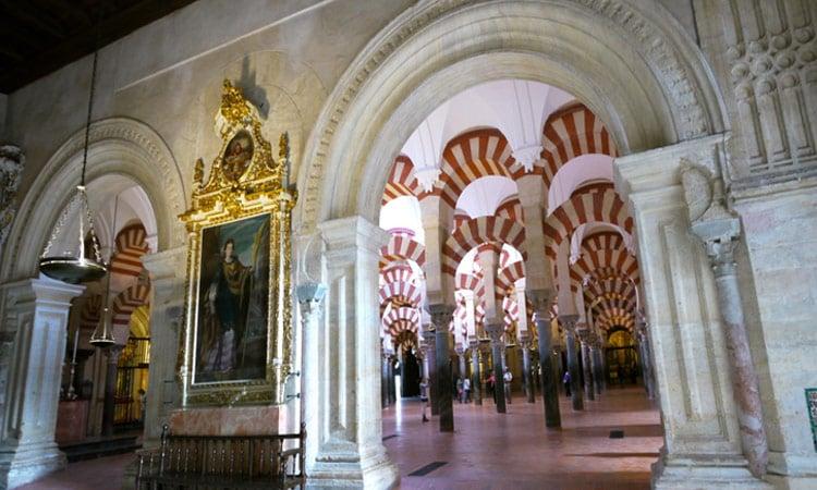 Eingang zur Mezquity Gebetshalle in Cordoba
