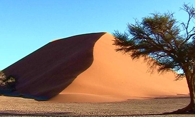 Riesige Sanddünen in Sossusvlei