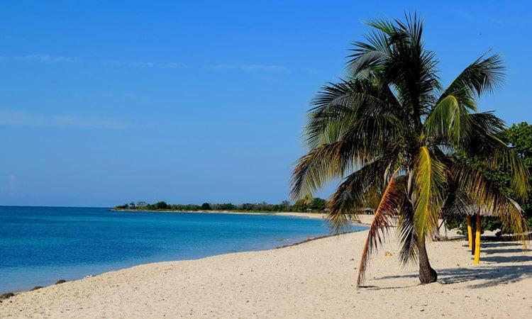 Karibik-Strand bei Trinidad