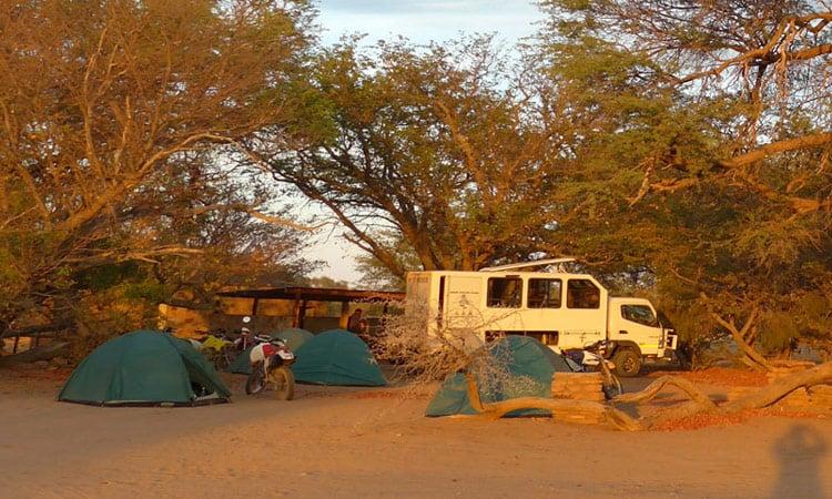 Unser Buschcamp