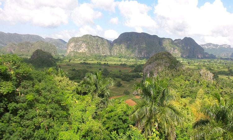 Traumhafte Landschaft im Vinales Tal