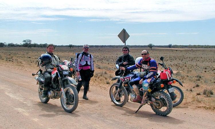 Australiens Pisten ein Genuss für Endurofahrer