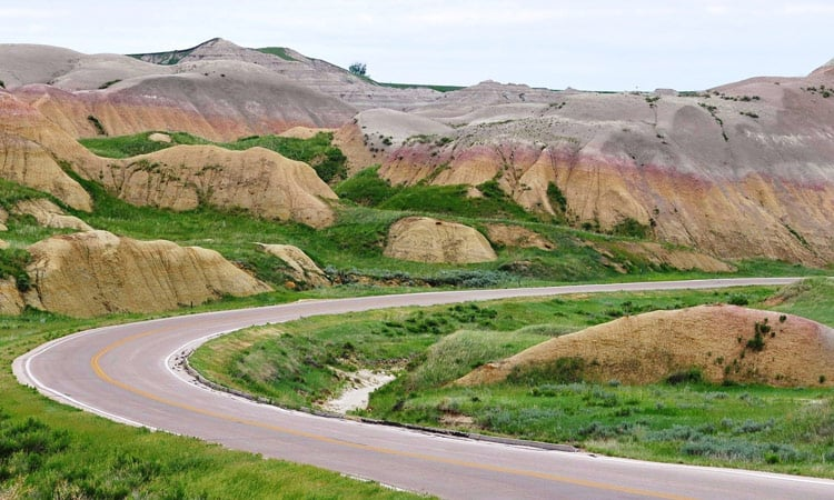 Durch den Badlands National Park