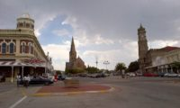 Die Innenstadt von Grahamstown