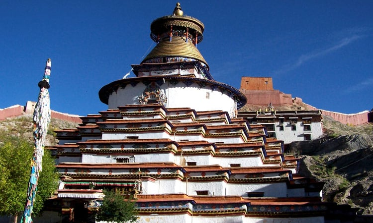 Kum Bum Stupa in Gyantse
